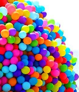 what color is helium rainbow color bunch of balloons 175 184 de l arc en