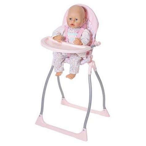 baby annabell swing baby annabell 3 in 1 highchair swing and comfort seat