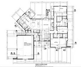 building plan drawing residential house foundation blueprints residential house
