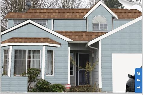 lt brown roof with oxford blue paint home dreams brown roofs brown and oxfords