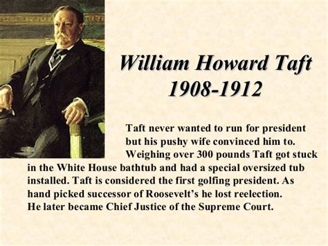 william howard taft stuck in a bathtub the us presidents
