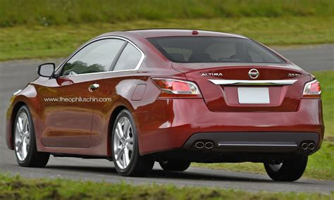 nissan altima sport 2014 all new 2014 nissan altima coupe rendering autoevolution