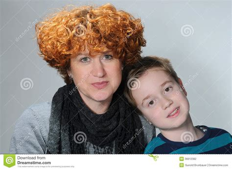 mother perm sons hair mother curls sons hair mother and teenager son
