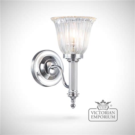 victorian bathroom lighting bathroom wall light carol 1 in polished chrome lights