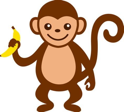 Monkey Banana Clipart monkey with banana free clip