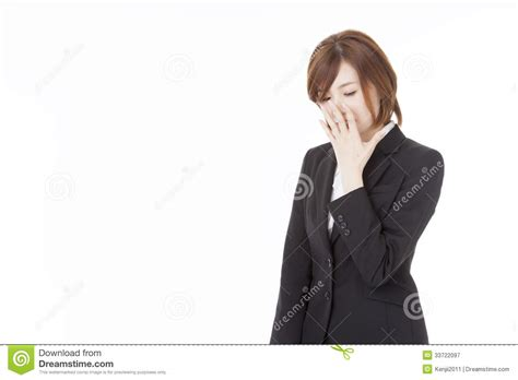 has a cough business that has a cough royalty free stock photography image 33722097