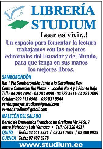 libreria studium sucursales de librer 205 a studium en guayaquil guayas ecuador