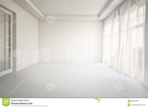 Living Without Furniture by Empty Living Room Stock Illustration Image Of