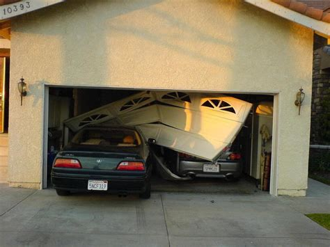 How To Into A Garage Door by Backed Into Your Garage Door Hudson Valley Overhead Doors