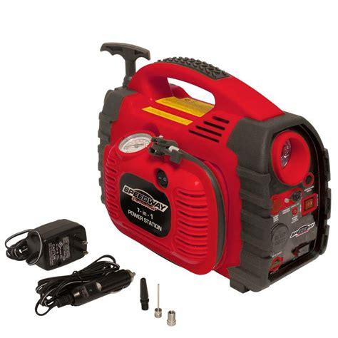 Baterai Lu Emergency 6 Volt speedway 7 in 1 powerstation emergency inflator with