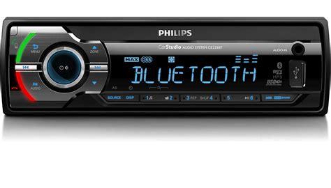 format audio poste voiture syst 232 me audio pour voiture ce235bt 12 philips
