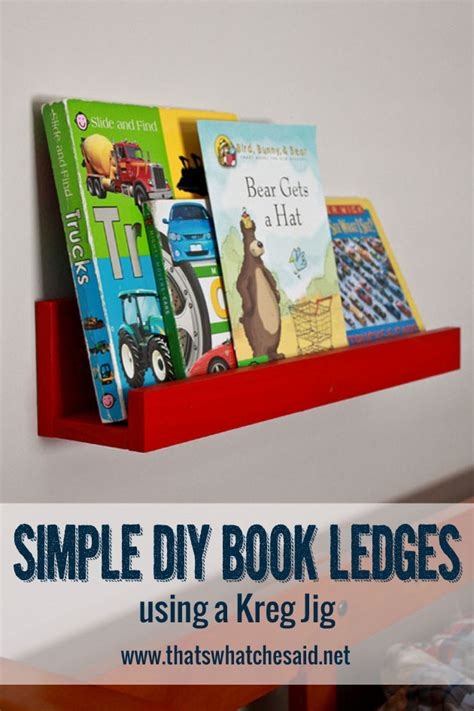 is simple books simple book ledges thirty handmade days