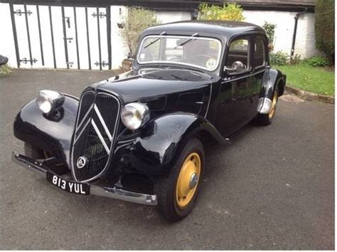 Citroen Traction Avant For Sale by For Sale 1939 Citroen 11bl Traction Avant Classic