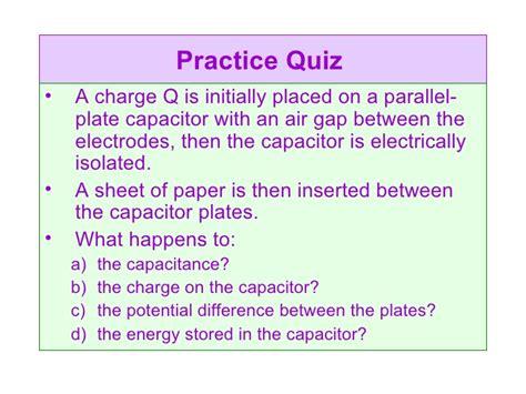 parallel plate air capacitor an air gap parallel plate capacitor of capacitance 28 images exercise 1 parallel plate air