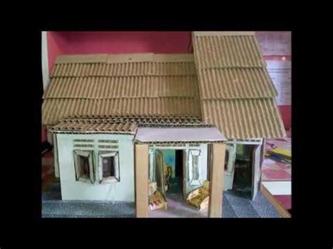 cara membuat pagar rumah dari kardus tetorial membuat miniatur rumah dari kardus bekas youtube