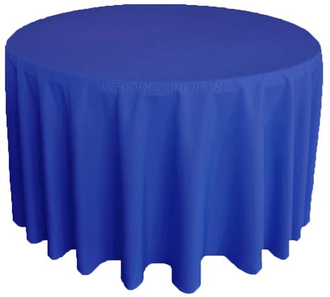 royal blue polyester tablecloths 108 quot table covers