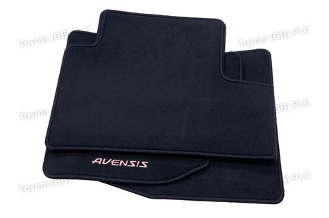 Avensis Car Mats by Genuine Toyota 3x Car Textile Floor Mats Avensis 11 08