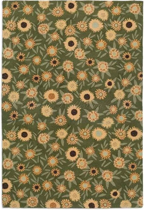 Sunflower Area Rug Large Sunflower Area Rug For The Home Floors Walls Bedding Mo