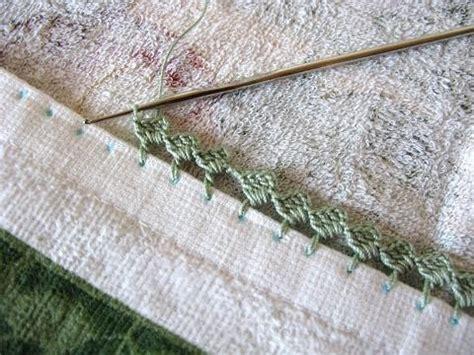 zig zag crochet border pattern tutorial easy zig zag crocheted edging crochet it