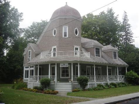 turret on a house the victorian dusty rose color infuses this room with