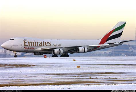 emirates cargo n497mc emirates sky cargo boeing 747 400f erf at
