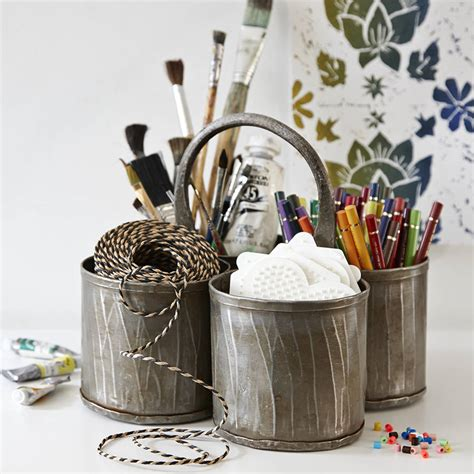 desk pot steel thali pen pot and desk tidy by lovestruck interiors notonthehighstreet com