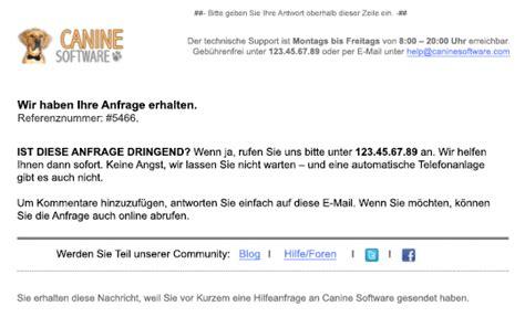 Email Template Vorlage Eine Bessere E Mail Vorlage F 252 R Zendesk Zendesk Support