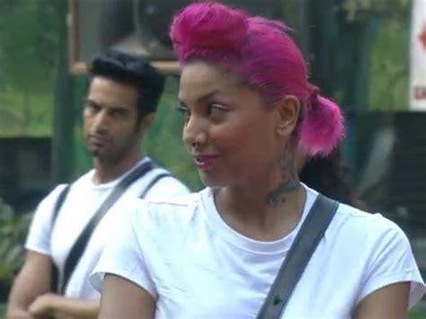 stylish hair of gautam gulatu bigg boss 8 diandra soares gautam gulati diandra soares