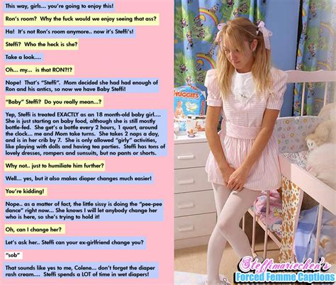 sister diaper captions tg tf sissy humiliation and more captains mean mom