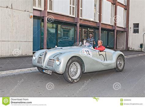 vintage alfa romeo 6c alfa romeo 6c 2500 ss 1947 editorial image image of