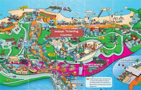 siloso resort location map singapore sentosa redemption location map