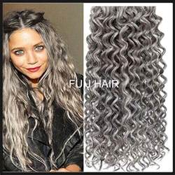 grey hair extensions gray hair extensions brown hairs