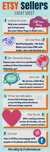 Handmade Infographics - infographic 7 tips for selling on etsy in 2015