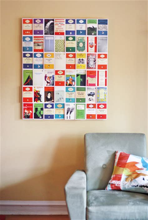 diy decorating with books how about orange 20 diy wall art ideas for decorating your home porch advice