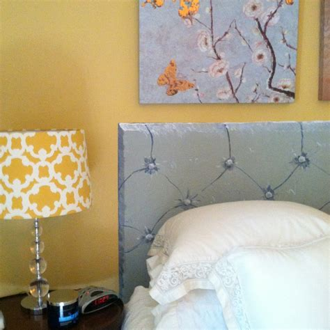 painting a headboard optimism and white paint painting a trompe l oeil tufted