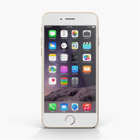 Chasing Iphone 6 Model Iphone 7 Gold 3d apple iphone 6 gold model