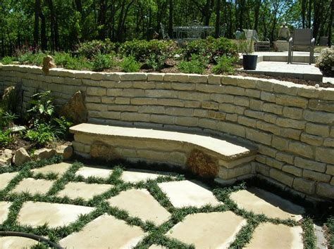 bench built into wall bench built into wall pin by green meadows landscaping on