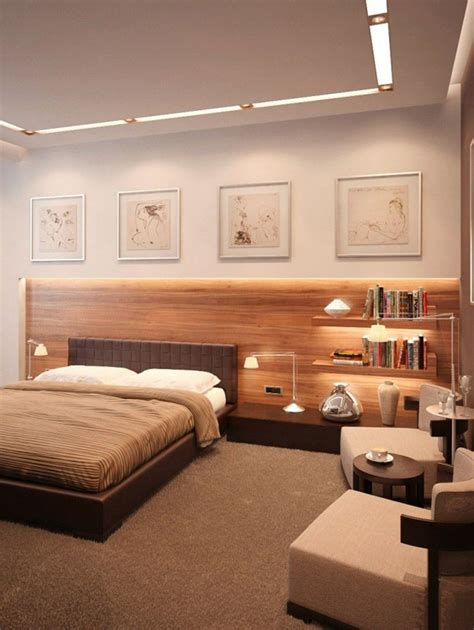 bedroom paint ideas  couples  white wall  wooden