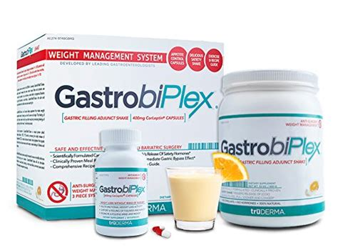 Detox Meal Replacement Shakes by Gastrobiplex Weight Loss System Kit Includes Feel