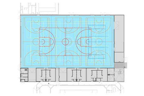 Floor Plan Measurements gallery of sports hall slangen koenis architects 11