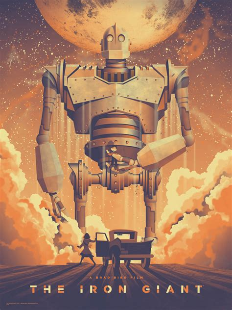 the iron giant the iron giant poster by dkng geektyrant