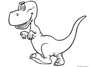 printable dinosaur rex coloring book pages