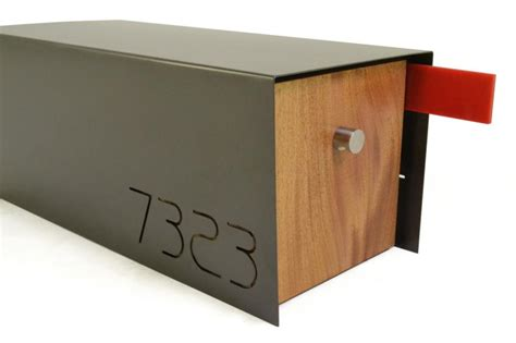 contemporary mailboxes a cool modern home needs a mailbox like this residential