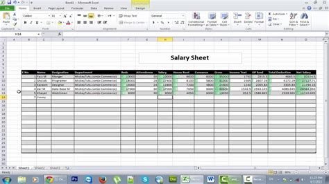 how to make a spreadsheet using microsoft excel natural