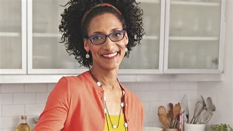 carla hall hair the chew s carla hall shares views on food and cooking