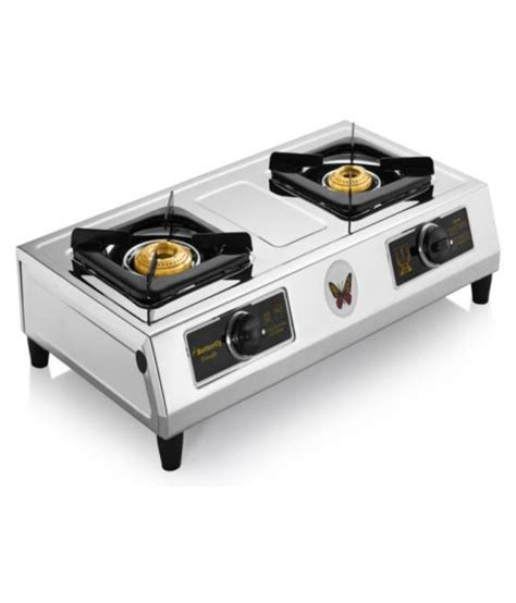 Oven Dapur Gas Butterfly butterfly friendly 2 burner quot 2 burner quot manual gas stove
