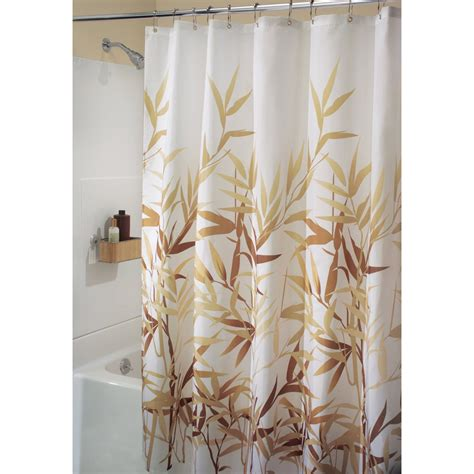 In Shower Curtain - fabric shower curtain anzu in shower curtains and rings