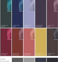 trends color palettes 2017 wgsn nocturne a w 2017 2018 tendencias