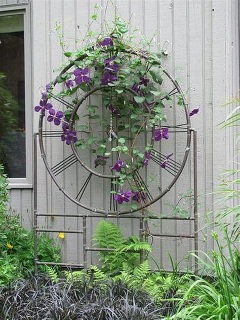 Trellis Metal These Metal Garden Trellises Are Beautiful With Or Without