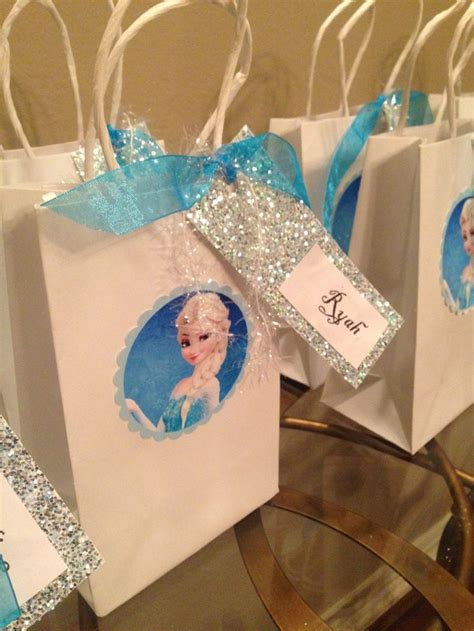 goody bag ideas frozen inspired birthday ideas